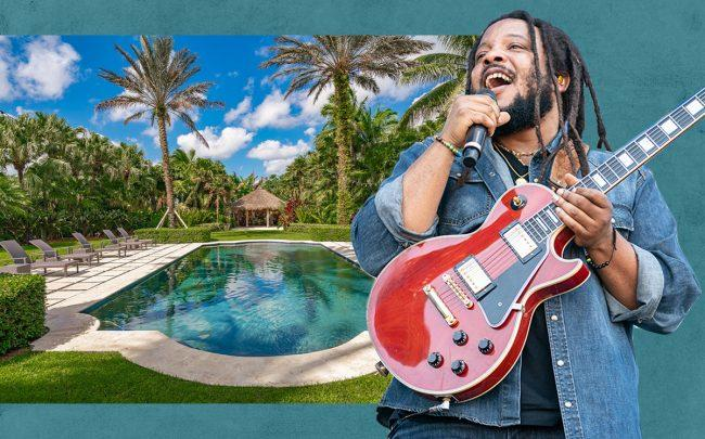 Stephen Marley with 27440 Southwest 187th Avenue (Getty, The Carroll Group)