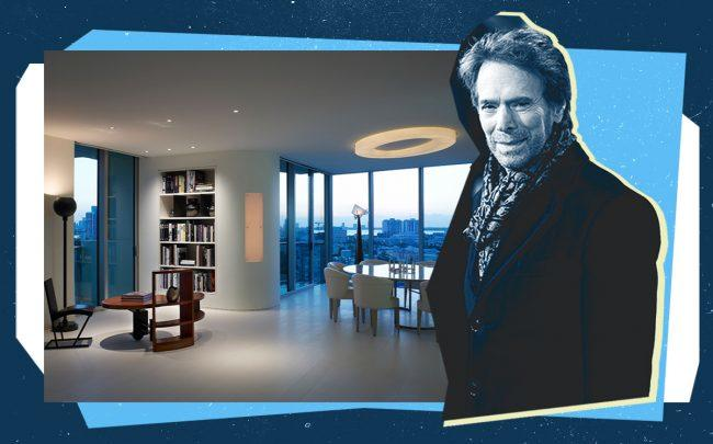 Jerry Bruckheimer and his penthouse (Getty, Douglas Elliman)