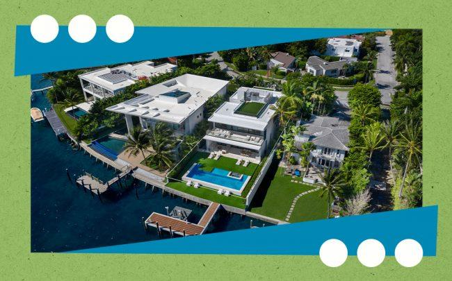 45 East Dilido Drive in Miami Beach (LPG for Douglas Elliman)