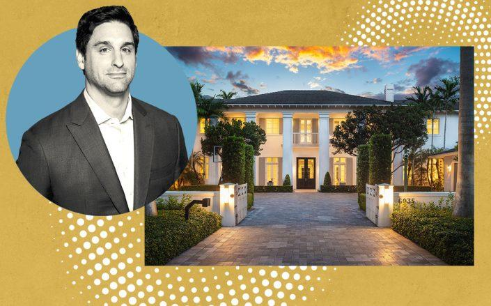 Marc Ferrentino and 6035 Southwest 92nd Street (REWS - David Hernandez for ONE Sotheby's International Realty)