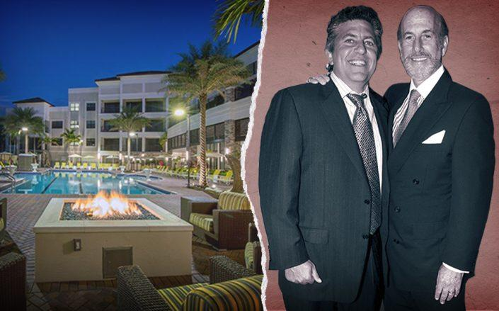 Robert Lapidus and David Levinson with 333 Central Gardens Circle, Palm Beach Gardens (Getty, Central Gardens)