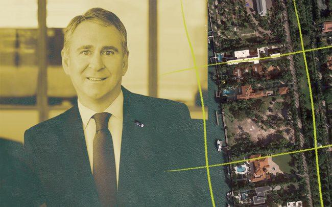 Ken Griffin and lots on Star Island Drive (Citadel, Google Maps)
