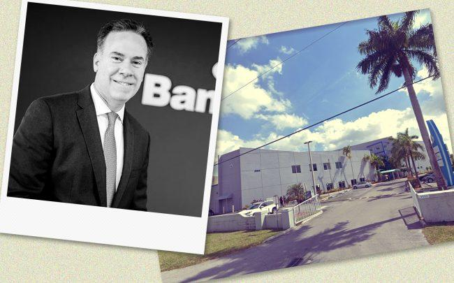 Mario Oliva of Banesco USA & 3155 Northwest 77th Avenue, Doral (Banesco, Google Maps)