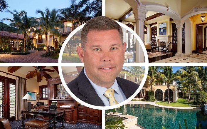 J. Eric Pike and 12358 Ridge Road, North Palm Beach (Redfin, XPRIZE)