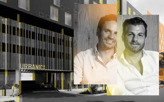 Diego Colmenero and Charlie Porchetto from Urbanica plan to break ground on Edgewater hotel (Urbanica)