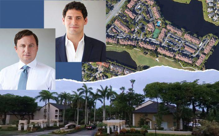 Axonic's Clayton DeGiacinto and Jonathan Shechtman with 10000 Northwest 45th Terrace, Doral (Google Maps)