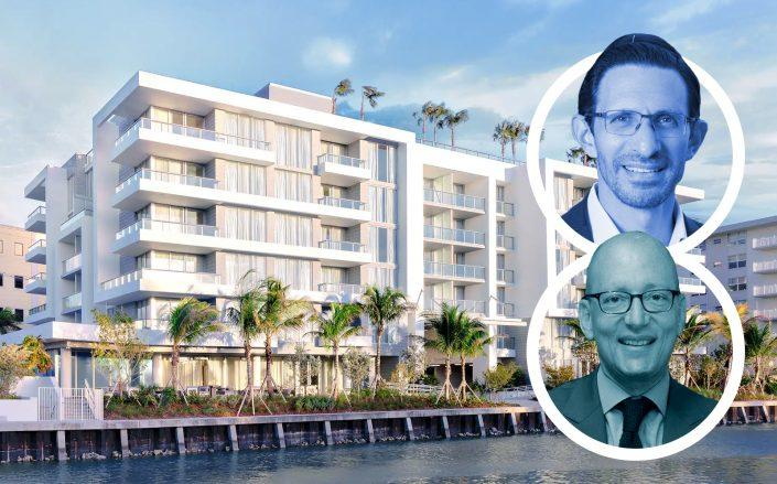 Ari Pearl, Jonathan Leifer and 9540 West Bay Harbor Drive. (Wyndam Hotels, PPG Development, L3C Capital Partners)