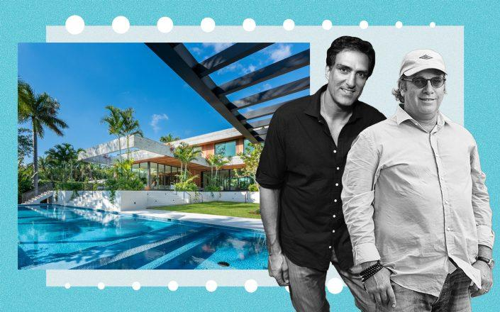 1420 West 23rd Street with Rony Seikaly and Todd Glaser (Seikaly via Getty; Glaser by Mary Beth Koeth)