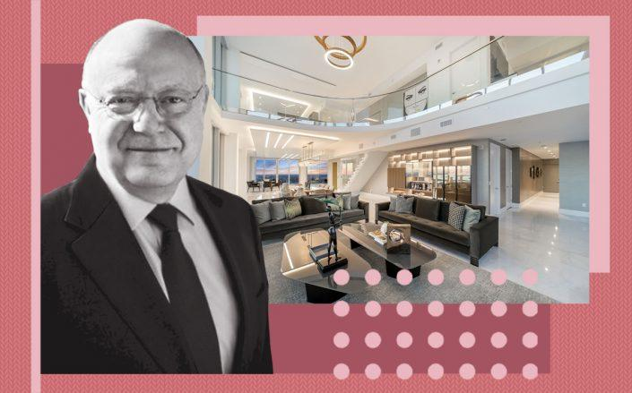Ian C. Read and the Jade Signature unit (erial Videos for ONE Sotheby's International Realty)