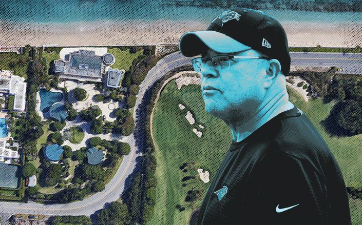 David Tepper and 905 North Ocean Boulevard (Getty, Google Maps)