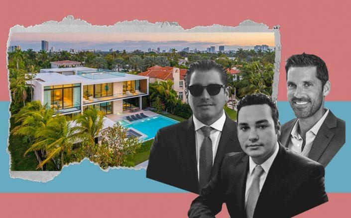 3080 North Bay Road with Andres Isaias, Alejandro Diaz-Bazan and Chad Carroll (Luxhunters, Carroll by Jeff Remas, iStock)