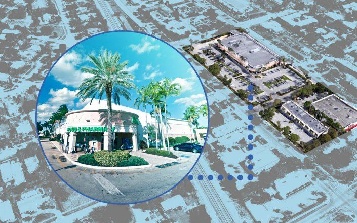 North Delray Commons at 455 & 555 Northeast 5th Avenue in Delray Beach (Photos via Google Maps)