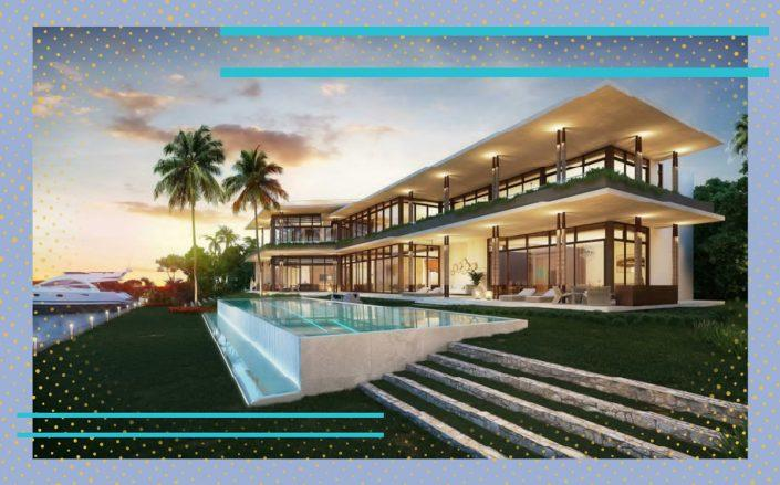 A rendering of 186 Bal Bay Drive (Borges + Associates)