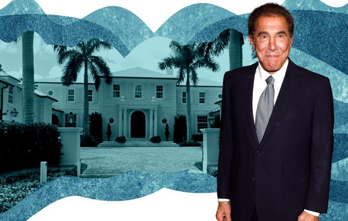 Steve Wynn with 1350 North Lake Way (Photos via Getty, Google Maps)