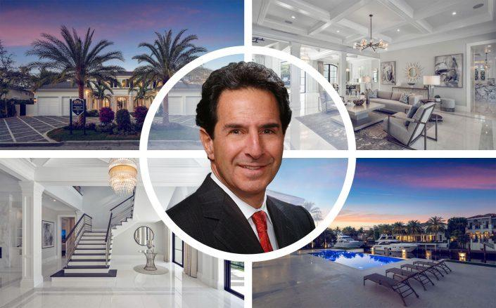 Charles Talanian sold his home in Boca's Royal Palm Yacht & Country Club. (C. Talanian Realty Co. Royal Palm)