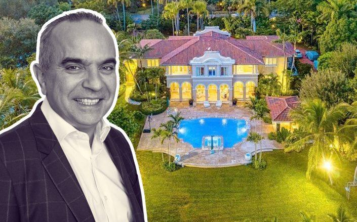 JRJ Group Founding Partner Roger Nagioff with his new property. (JRJ Group, Loweth Luxury Properties)