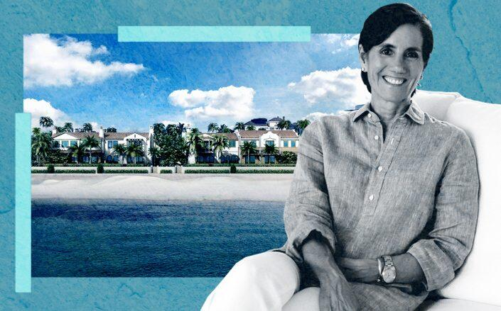 Suzanne Frisbie and 456 South Ocean Boulevard, Palm Beach (Frisbie Group)