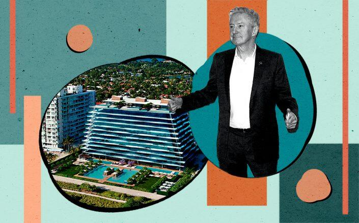 Louis Walsh and Fendi Château Residences (Getty)