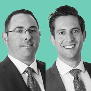 Peter Mekras and Brell Tarich of Aztec Group