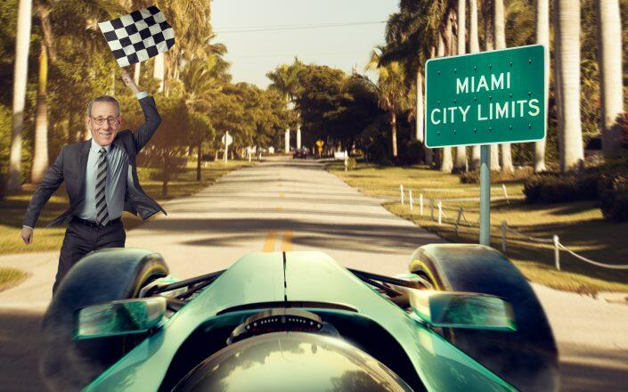 Formula 1 hasn't raced in Florida since 1959. (Getty, Related)
