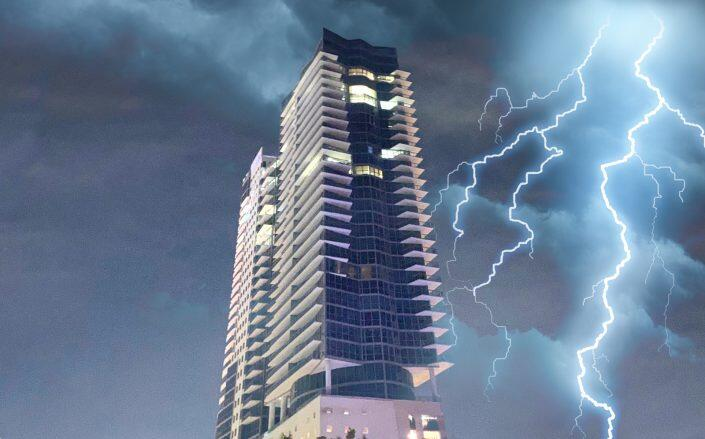 14 floors of The Setai Miami Beach have been without power  for a week.