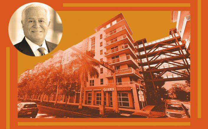 Mesirow Financial Chair and CEO Richard Price with Elan 16Forty apartments at 1600-1700 East Sunrise Boulevard (Google Maps)