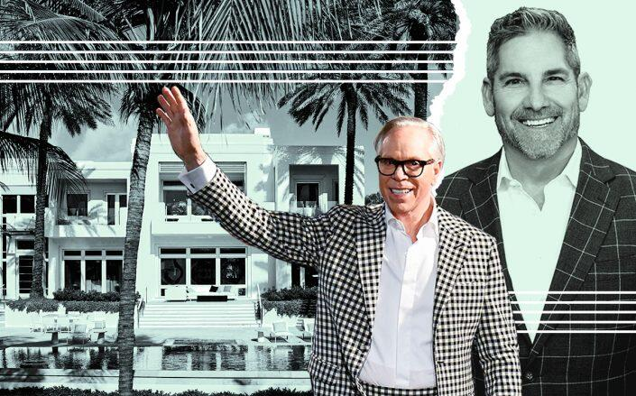 Tommy Hilfiger and Grant Cardone with 605 Ocean Boulevard (Getty)