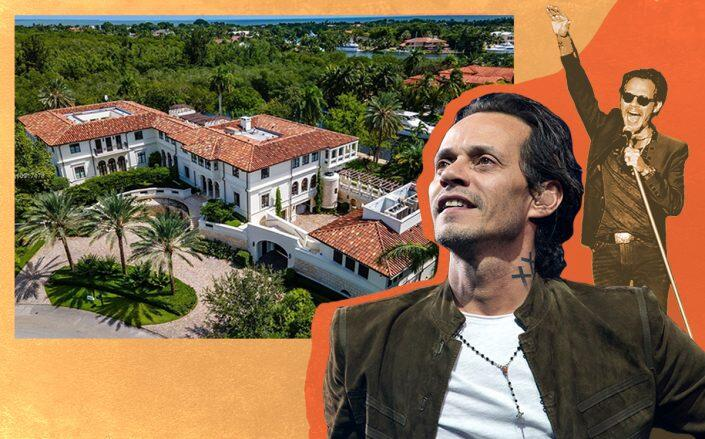 Marc Anthony and 300 Costanera Road (Getty, Mint Studios Miami)