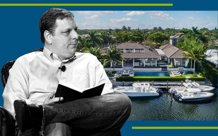 J. Michael Arrington with the property (Getty, James Irwin / ONE Sotheby's International Realty)