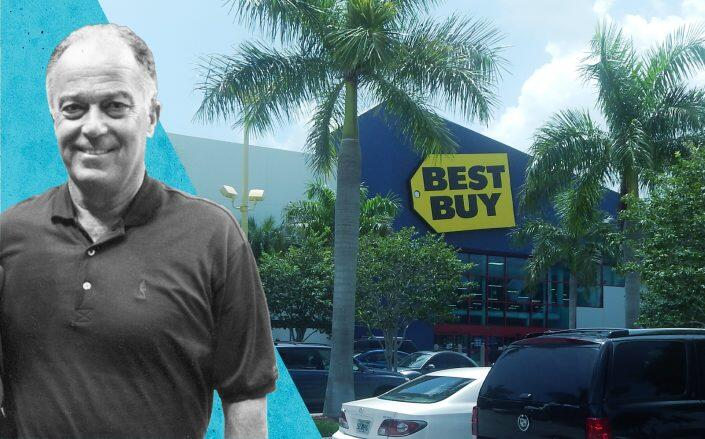 Raanan Katz of RK Centers and Best Buy at 1880 Palm Beach Lakes Boulevard in West Palm Beach (RK Centers and Orion Miami)