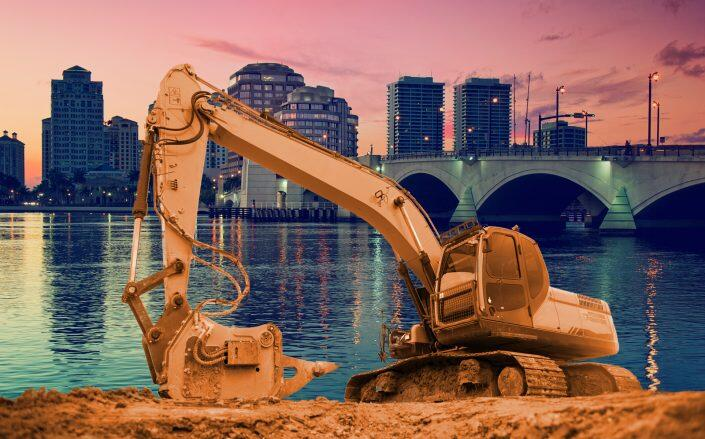 Total construction starts rose 14 percent in April. (Getty)