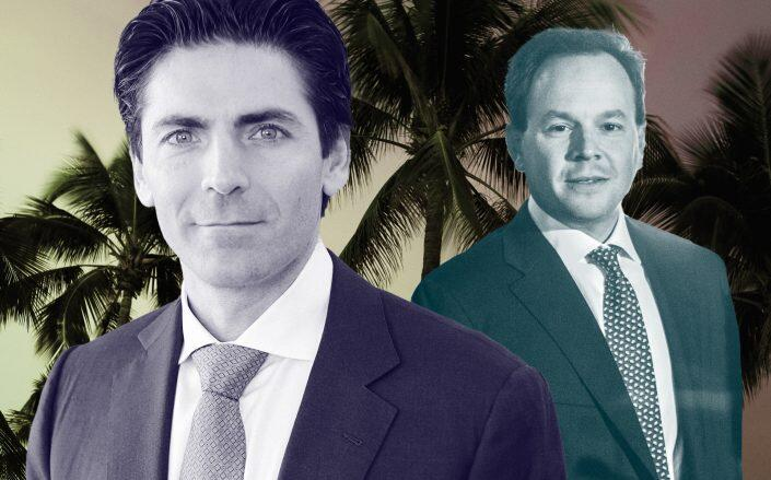 Mast Capital's Camilo Miguel Jr. and Rockpoint Group's Keith Gelb. (Getty, Mast Capital)