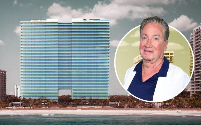 Sam Herzberg and Bal Harbour Condo. (Getty, Bal Harbour)