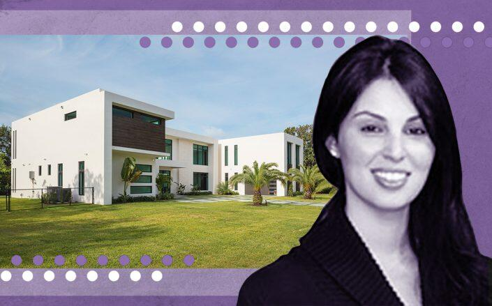 Julia Wittlin and 5900 Southwest 113th Street, Pinecrest (ONE Sotheby's International Realty)