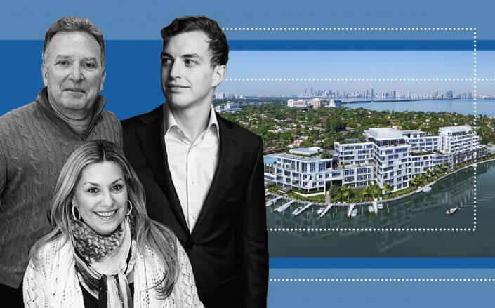 Steven, Lauren and Zach Witkoff with the Ritz-Carlton Residences, Miami Beach (Getty, Witkoff, Ritz Carlton)