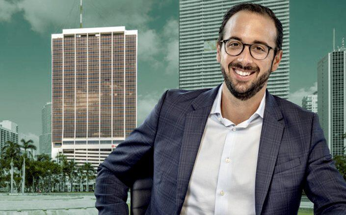 Senior Vice President at CP Group Brett Reese with One Biscayne (CP Group, One Biscayne)