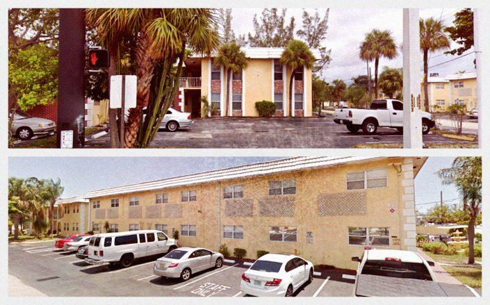 1007 West Prospect Road in Fort Lauderdale and 999 West Prospect Road in Oakland Park