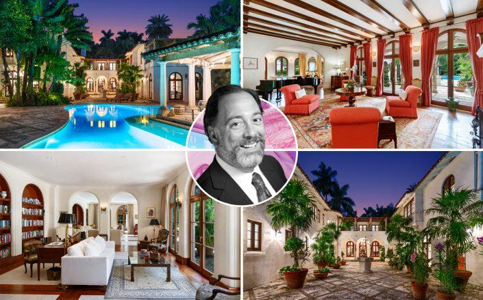 Nathan Leight and the Coconut Grove estate (One Sotheby's, Terrapin Partners)