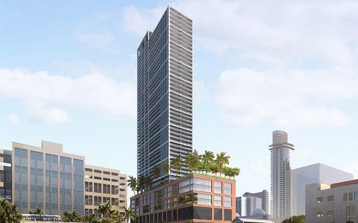 A rendering of Natiivo Miami