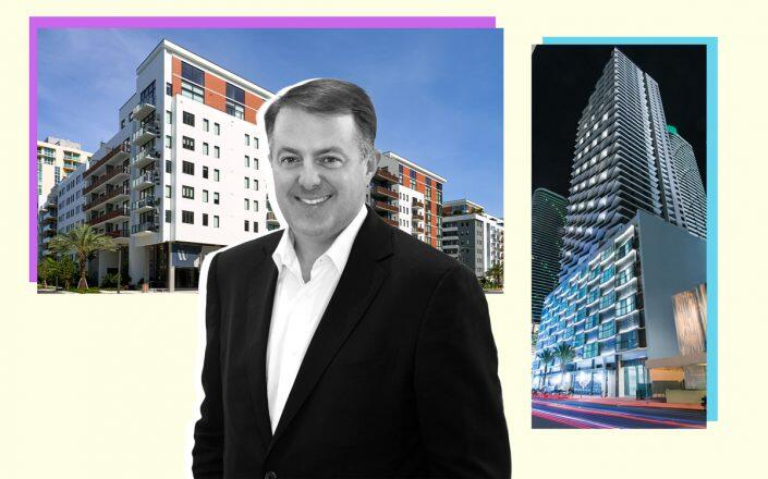 Zom Living CEO Greg West with the properties