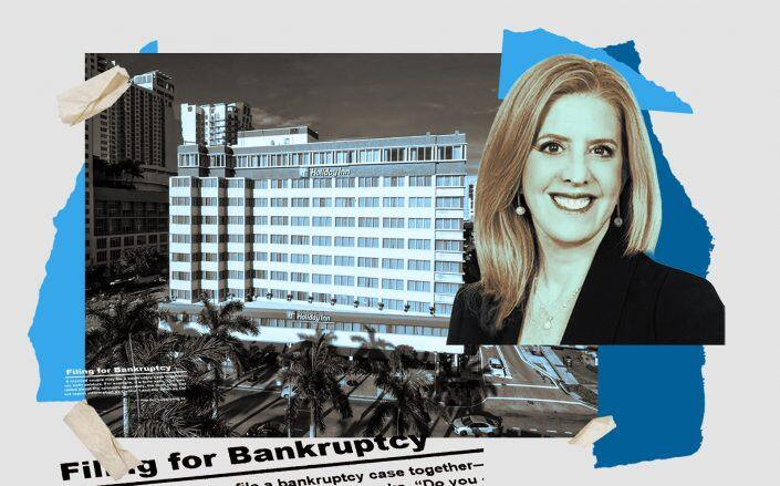 The Holiday Inn at 340 Biscayne Boulevard in Miami and attorney Linda Worton Jackson