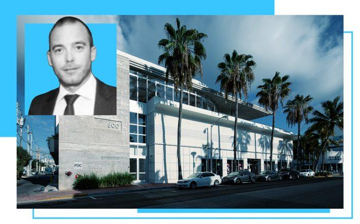 800 Lincoln Road building and Restaurateur Gregory Galy (Tricap, LinkedIn)