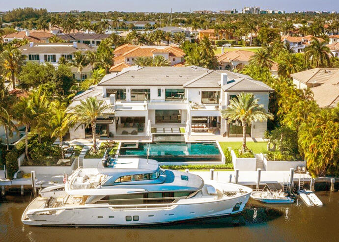 AutoLenders CEO buys waterfront Boca Raton estate for record $25M