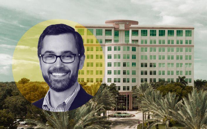 CP Group Managing Partner Angelo Bianco with One Town Center (CP Group)