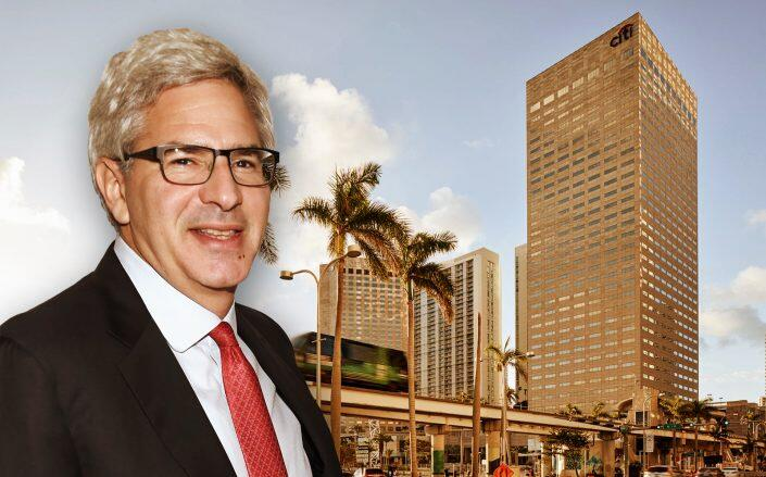 Monarch Alternative Capital CEO Michael Weinstock and Citigroup Center (Getty, Citigroup Center)