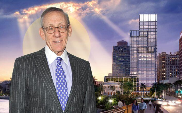 Related Companies Chairman Stephen Ross with One Flagler (Related, Getty)