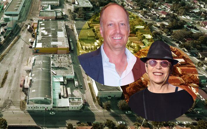 The property with Jason and Mera Rubell (Getty, Trulia)