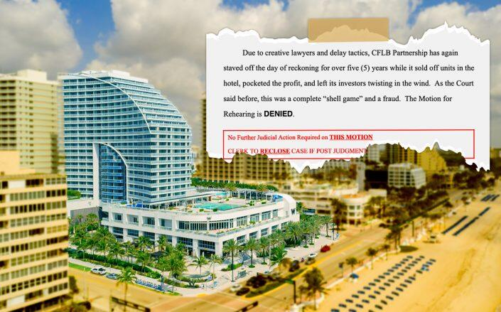 Conrad Fort Lauderdale Beach developer on the hook for nearly $3M after losing lawsuit