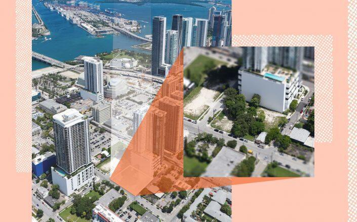 The land at 1550 NE Miami Place in Miami (Courtesy of Colliers South Florida)