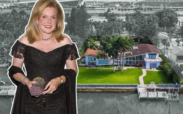 Brenda Nestor with 39 Palm Avenue in Miami Beach (Getty, Compass via Coldwell Banker Realty)